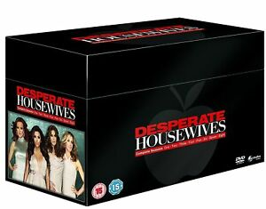 DESPERATE HOUSEWIVES COMPLETE SEASON SERIES 1 2 3 4 5 6 7 & 8 DVD BOX SET R4 New