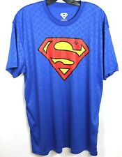 Superman Mens Sz Xl Holo SupermansoOn The Shirt Blue