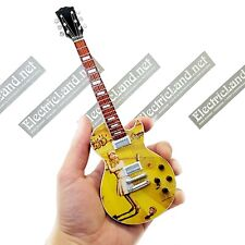 Mini Guitar Genesis Nursery Cryme les paul Steve Hackett miniature collectible