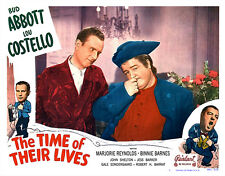 THE TIME OF THEIR LIVES LOBBY SCENE CARD # 2 POSTER 1951-R  ABBOTT AND COSTELLO