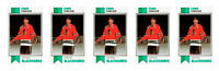 (5) 1993 SCD #10 Chris Chelios Hockey Card Lot Chicago Blackhawks