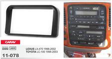 CARAV 11-078 2Din Marco Adaptador de Radio LEXUS LX470, TOYOTA Land Cruiser 100