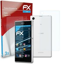 atFoliX 3x Screen Protection Film for Sony Xperia Z1 Screen Protector clear