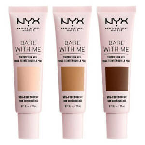 NYX Bare With Me 8hr Tinted Skin Veil BB Cream 27ml - CHOOSE SHADE - NEW