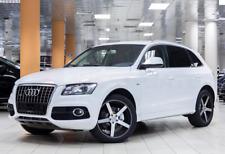 SUV Offroad 5doors front/&rear Wind deflectors for Audi Q5 8R Facelift 2012