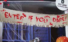 Halloween sangue COLORATI Panno Banner Garland spaventosa sanguinoso Decorazione 6 piedi lungo