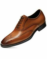 FRASOICUS Mens Dress Shoes Genuine Leather Brogue Oxford Formal Shoes for Men...