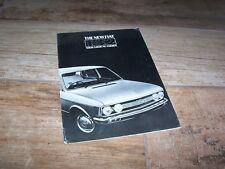Prospectus / Brochure FIAT 132 1973 //
