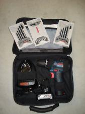 Bosch GSR VE 12v-15 Batterie-Percussion + Perceuse-Bit-Set