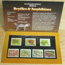 NEW Unused Collector Stamp Sets 7 Australia Animals Plants 1982 Christmas Anzac+