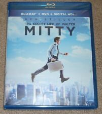 The Secret Life of Walter Mitty (Blu-ray/DVD, 2014, 2-Disc Set, Includes Digital