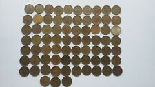 """Coins """"1 kopeck"""" of the USSR and Russia number of 73 pieces"""