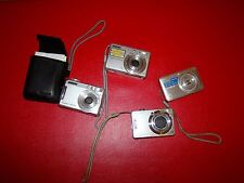 Lot of 4 Cameras Camera (4 X Sony Cyber-Shot) NOT TESTED for parts or FIX
