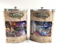 Lot of 2 Taste Of Tuscany 500 Pieces Puzzle Tin Box  Sure-lox Complete