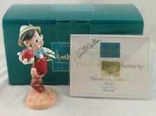 """WDCC """"Good-bye Father"""" Pinocchio from Disney's Pinocchio in Box with Signed COA"""