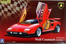 Lamborghini Wolf Countach Version 1 in 1:24 Model Kit Aoshima 049600 NEU Bausatz
