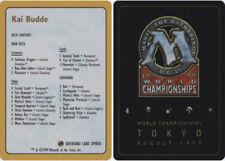 1x Decklist - Kai Budde - 1999 NM-Mint, English World Championship Cards MTG Mag