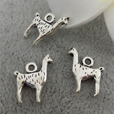 10pcs Llama Charm Tibetan Silver Bead Finding Jewellery Making 13*17mm