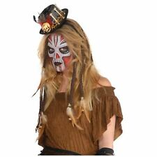 Witch Doctor Hair Extensions Dreadlocks Halloween Costume Accessory