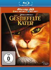 DER GESTIEFELTE KATER (BLU-RAY 3D+BLU-RAY) -   2 BLU-RAY NEU