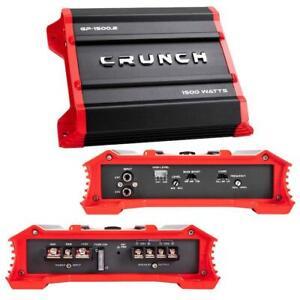 Crunch GP15002 2 Channel Amplifier, 1500 Watts