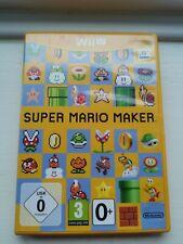 Nintendo Wii U - Super Mario Maker - FREE POST UK