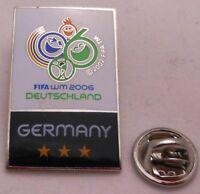 Pin / Anstecker + FIFA + Fußball Weltmeisterschaft 2006 + Germany 3 Stars (46)