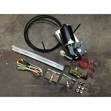 1953-56 F1 F100 Ford Truck Pickup Power Windshield Wiper Kit + Wiring Harness HD