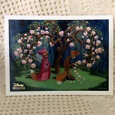 Disney Movie Club Lithograph-Robin Hood