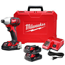 Milwaukee 2657-22CT M18 18-Volt 2-Speed 1/4-Inch Hex Impact Driver w/ Batteries