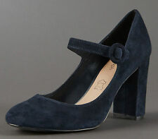 Marks and Spencer Women's Suede Court Block Shoes