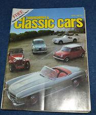 Thoroughbred & Classic Cars April 1982 guide to Classics, Railton, Panhard