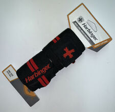 """Harbinger Red Line Wrist Wraps Weightlifting Heavy Lifting 18"""" Competition Grade"""
