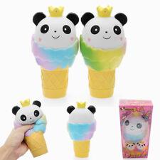 Vlampo Squishy Panda Ice Cream Jumbo 19cm Slow Rising Original Packaging Collect