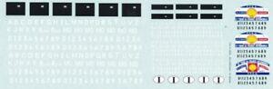decal 1/18 TARGHE ITALIANE VECCHIE + PLACCHE TdF ATELIER CAR MODEL DE074