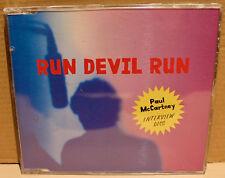 PARLOPHONE PROMO CD RDR-INT006: Paul McCartney - Run Devil Run Interview 1999 UK