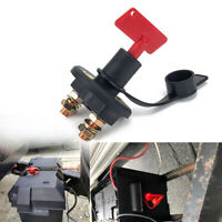 Car Truck Boat ATVs Battery Isolator Disconnect Cut Off Power Kill Switch