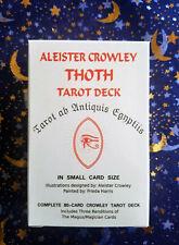 Aleister Crowley Thoth Tarot Card Deck, Lady Frieda Harris, Egyptian, NEW RETRO
