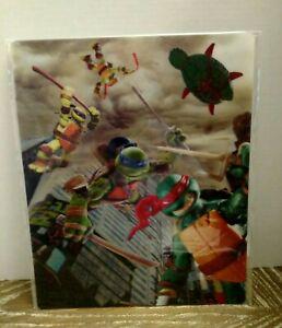 NICKELODEON Teenage Mutant Ninja Turtles 3D Wall Art 14X11.5