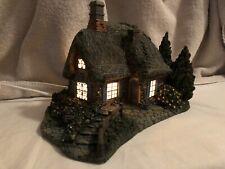 "Vintage Hawthorne Holiday Lighted ""Sweetheart Cottage""Numbered 88846~ 2001~7.5"""