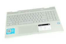 L20746-001 460.0ED0D.0001 HP TOP COVER W/ KEYBOARD BL 15M-CN0012DX (A) (FF24)