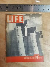 1936 Life Magazine Volume 1 Number 1 Cover condition issues