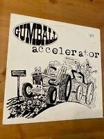 Velvet Monkeys - Accelerator GUMBALL  Vinyl VG  *RARE*