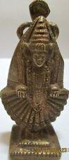 Vintage Collectible Hindu Lord Tirupati Balaji Brass Statue / Figurine