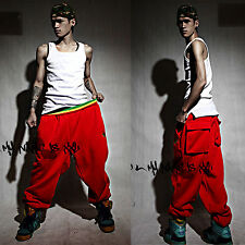 Hot Men Women Hip Hop Dance Harem Baggy Sport Casual Sweatpants Trousers Pants