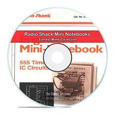 RadioShack Engineer's Mini Notebooks Forrest Mims Electronics Books CD DVD H47
