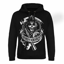 Officially Licensed Sons of Anarchy - Scroll Reaper Epic Hoodie S-XXL Sizes