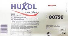 HUXOL HUXOLIN SÜßSTOFF TABLETTEN PORTIONSBEUTEL 2000 x 2 STÜCK HOT(59,33EUR/1kg)