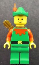 LEGO Castle Forestmen Forestman Red Quiver Red Plume cas137a Minifigure 6066