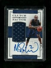 Mitch Richmond National Treasures CLUTCH FACTOR Jersey ON-CARD Auto #/75! RARE!
